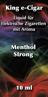 Menthol Strong Liquid 10 ml