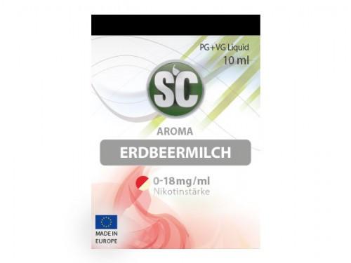 SC Erdbeermilch Liquid 10 ml