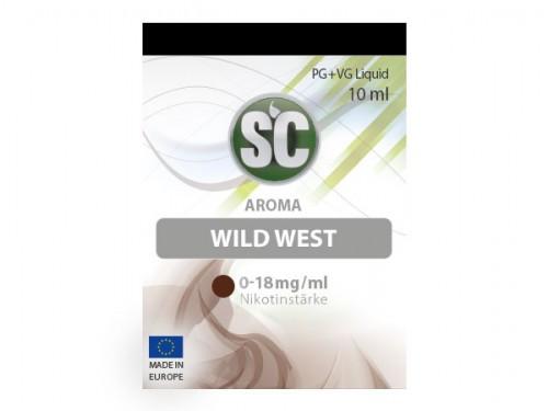 SC Wild West Tabak Liquid 10 ml