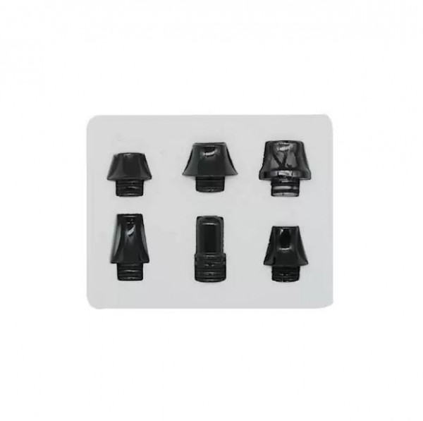 DripTip Set 510 schwarz