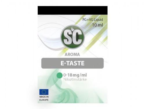 SC E-Taste Liquid 10 ml