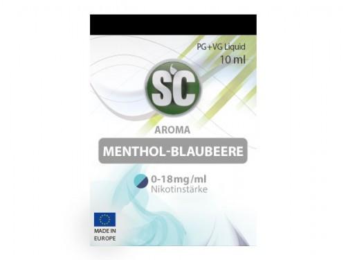 SC Menthol Blaubeere Liquid 10 ml