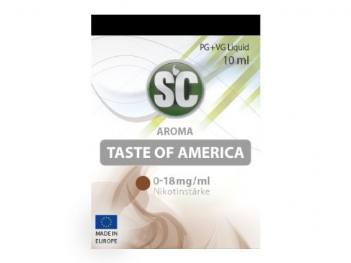 SC Taste of America Tabak Liquid 10 ml