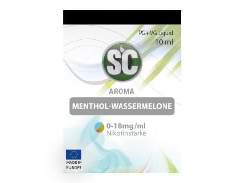SC Menthol Wassermelone Liquid 10 ml