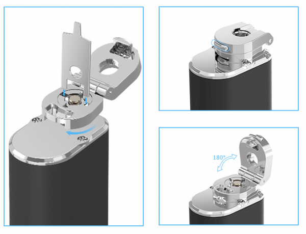 Eleaf iStick bending adapter