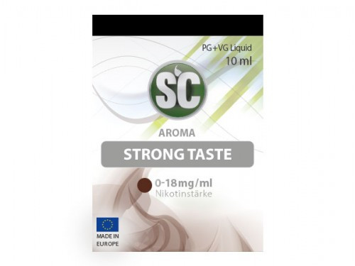 SC Strong Taste Tabak Liquid 10 ml