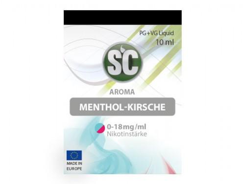 SC Menthol Kirsche Liquid 10 ml