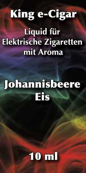 Johannisbeere-Eis Liquid 10 ml