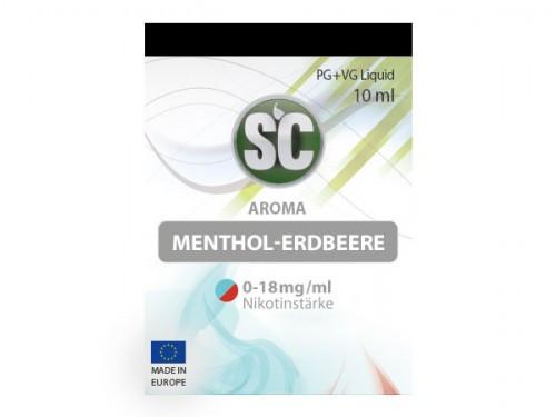 SC Menthol Erdbeere Liquid 10 ml