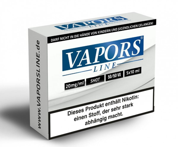 Vapors Line Shot 20 mg / 50ml (5x10ml)