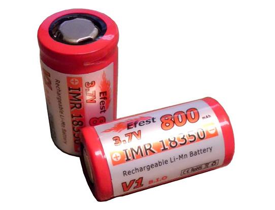 EFEST 18350 IMR Lithium-Mangan